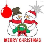 OYOOS Merry Xmas Snowman design
