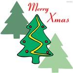OYOOS Merry Xmas Trees design