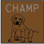 OYOOS Champ Dog design