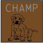 OYOOS Champ Dog design
