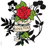 OYOOS Love You Rose design
