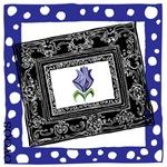 OYOOS Purple Rose design