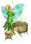 Waneta the Wicker Furniture Fairy