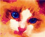 Watercolor Ragdoll Eyes