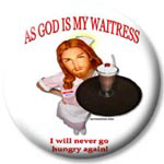 As God Is My Waitress