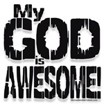 My God is Awesome - White