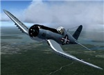 Marine Corsair in action