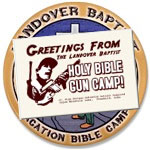 Collectible Bible Gun Camp Gear