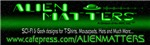 Alien Matter Bumper Sticker