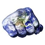 Mohammed Ali Right Earth Fist Western Hemisphere