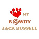 Personalize This: I Love My Rowdy Jack Russell