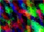 Glowing Neon Spirals