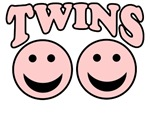 IT'S TWINS BABY GIRL TWINS IDENTICAL TWINS EXPECTI