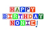 Happy Birthday Nonie