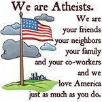We Are Atheists & We Love America Too