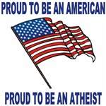 Proud American and Atheist