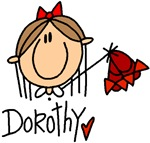 A cute and simple Dorothy of Oz from the Wizard of Oz