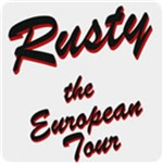 Rusty the European Tour T-Shirt