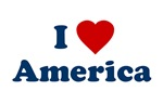 I Love America T-Shirt