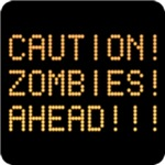 Caution Zombies Ahead T-Shirt