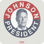 Vintage Gary Johnson for President 2012