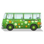 Vintage Hippie Van