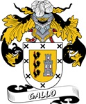 Gallo Coat of Arms, Family Crest