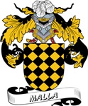 Malla Coat of Arms, Family Crest