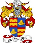 Marrades Coat of Arms, Family Crest