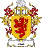 Lewe Coat of Arms, Family Crest