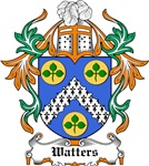 Watters Coat of Arms, Family Crest