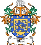 Ware Coat of Arms, Family Crest