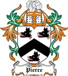 Pierce Coat of Arms, Family Crest