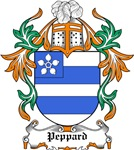 Peppard Coat of Arms, Family Crest