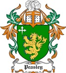 Peasley Coat of Arms, Family Crest