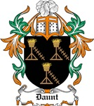 Daunt Coat of Arms, Family Crest