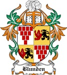 Blunden Coat of Arms, Family Crest