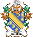 Bingham Coat of Arms, Family Crest