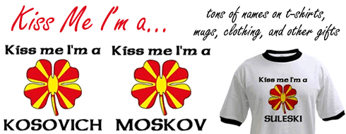 Kiss Me I'm Macedonian