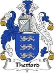 Thetford Family Crest