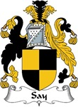 Say Family Crest