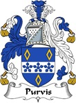 Purvis Family Crest
