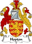 Hopton Family Crest