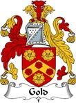 Gold Family Crest