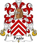 Pages Family Crest