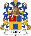 Lattre Family Crest