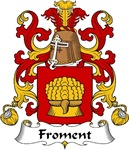 Froment Family Crest