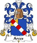 Arces Family Crest