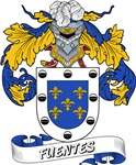 Fuentes Family Crest / Fuentes Coat of Arms