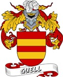 Guell Family Crest / Guell Coat of Arms